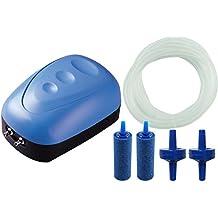 BPS Bomba de Aire, Oxigenador Compresor de una Unica Salida Con 1x Manguera , 2x