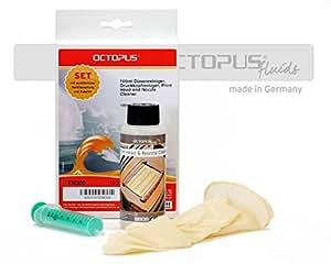 Detergente per ugelli, detergente per la pulizia di tutte le testine di stampa delle stampanti Epson, Lexmark, Canon, Brother, HP, Kodak e Samsung, 100 ml