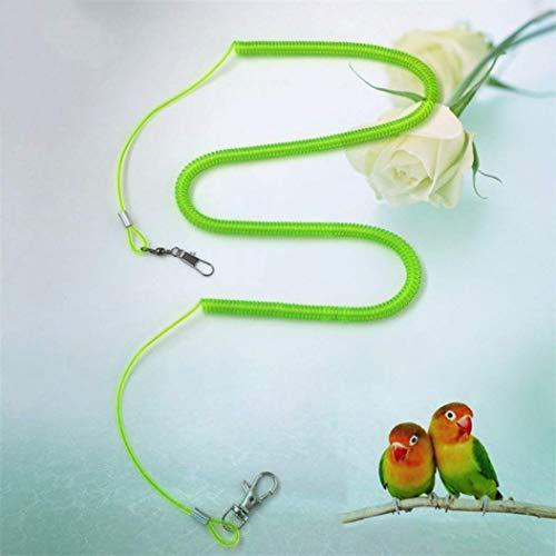 Ruiyiheng Langlebig Papagei Vogel Leine Set Anti-Biss Fliegende Training Seil Nymphensittich Wellensittich Spielzeug für Zuhause Dekoration - Release Seil 7 Meter (Stretch) in Großhandel