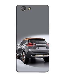 FUSON Designer Back Case Cover for Oppo Neo 5 :: Oppo A31 :: Oppo Neo 5S 2015 (Automobile Car Concept Drive Fuel)
