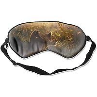 Schlafmaske mit Löwen-Motiv, hochwertig, leicht, mit verstellbarem Riemen, blockiert das Licht komplett – ideal... preisvergleich bei billige-tabletten.eu