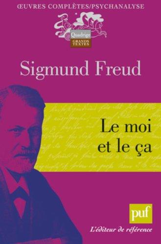 Le moi et le ça par Freud Sigmund