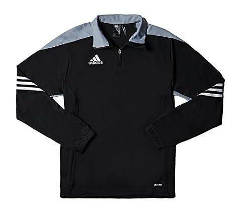 Sweat Training Adidas - adidas Sereno 14 Sweat-Shirt d'entraînement Homme Black/Silver/White