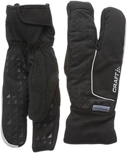 Craft sibériens 3Finger Handschuhe Langlauf Unisex M Schwarz