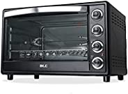 ATC Electric Oven 60 Lit, Double Glass, H-O60DG Black