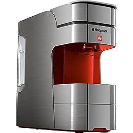 Hotpoint CMHPCGB0 Compact Espresso Machine, 240 W, Red