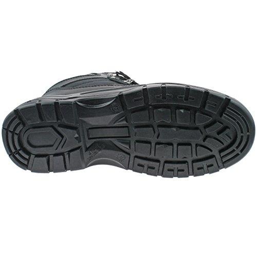 Sicurezza Impermeabile Hiker tipo, colore: nero Black Action Leather/Nylon