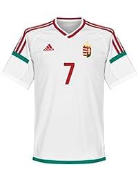 Ungarn Away Trikot 2016 2017 + Dzsudzsák 7 (Fan Style)
