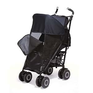 neu 2011 sonnenschutz f r kinderwagen netzgewebe schwarz baby. Black Bedroom Furniture Sets. Home Design Ideas