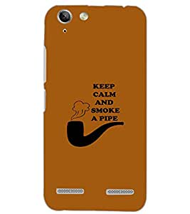 PrintDhaba QUOTE D-7020 Back Case Cover for LENOVO LEMON 3 (Multi-Coloured)