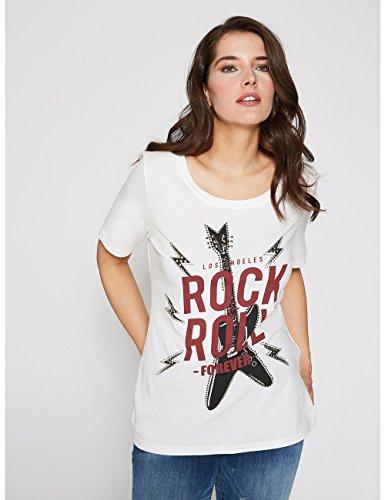 Fiorella Rubino Damen T-Shirt Bianco