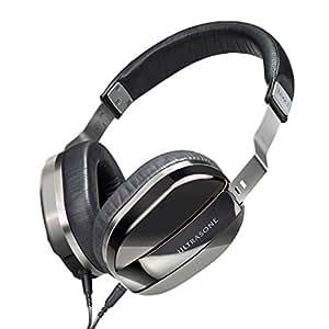 ULTRASONE Edition M Plus Black Pearl | Dynamischer Hi-Fi Profi Kopfhörer Made in Germany | Inklusive Transportbeutel
