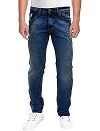 Raa Jeans Men's Slim Fit Jeans Raa021 Blue