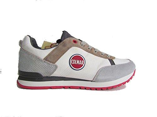 Colmar sneaker uomoTravis Colors 106 WHITE/GREY SS16 N. 44