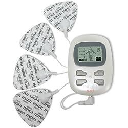 HoMedics PP-HST-100-EU Electro Estimulador Multiusos HST-100, Unisex-Adulto, Blanco