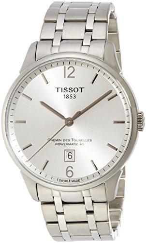 TISSOT HERREN-ARMBANDUHR 42MM ARMBAND EDELSTAHL AUTOMATIK T0994071103700 (Tissot Uhren Männer Luxus)