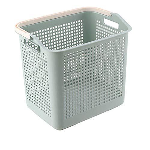 Regal einlagig Kunststoffkorb Wäschekorb Babyspielzeug Kleinigkeiten Aufbewahrungskorb Wäschekorb Nordic blau A Abschnitt [einlagig]