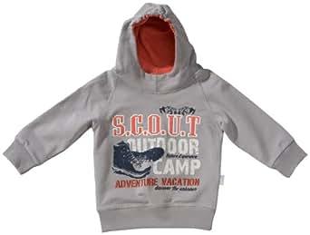 Stummer Baby - Jungen Sweatshirt 21230, Gr. 80, Grau (242 gull)
