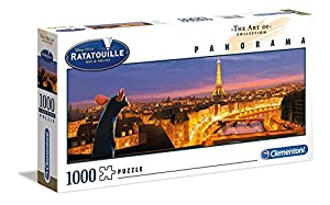 Clementoni The Art of Disney Puzzle panorama-cars-1000 Unidades, 39487