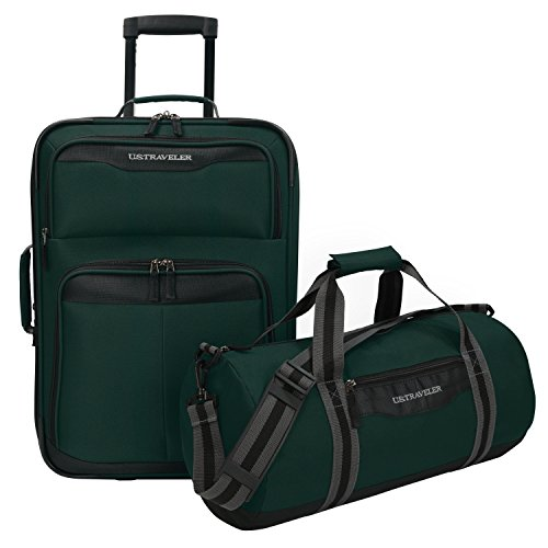 us-traveler-hillstar-2-piece-casual-luggage-set-forest