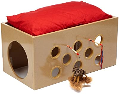 SmartCat Bootsie's Bunk Bed and Playroom for Cats - low-cost UK light store.