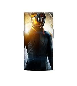 Ebby Premium Printed 3D Designer Back Case Cover For OnePlus One (Premium Designer Cae)