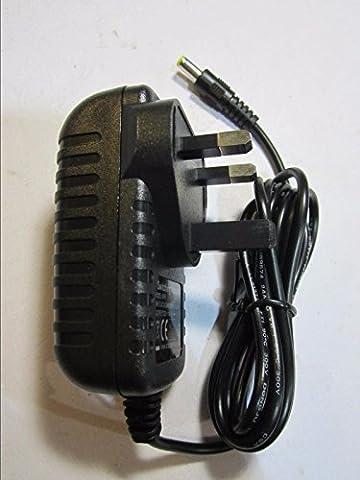 9V 200mA/210mA Adaptateur Alimentation AC Alimentation pour Motorola XTR446PMR Radio