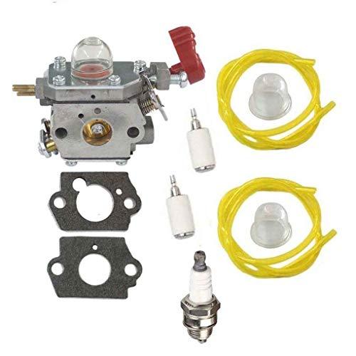 Aiming Vergaser für MTD 753-06288 für ZAMA C1U-P27 TB2044XP Carb Craftsman  Kraftstoffleitung Kit Set für Troy-Bilt TB2040XP Murray MS2550