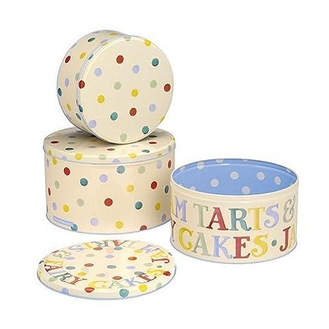 Emma Bridgewater Polka Dot SET OF 3 ROUND CAKE TINS,