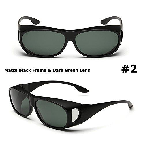 Aprigy M?nner polarisierten Lense Fahren Fischerei Sonnenbrillen Abdeckung f¨¹r Myopie Brille POLAROID Sun Glasses