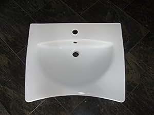 unterfahrbar behindertengerechtes waschbecken waschtisch 65 cm breit wei best clean. Black Bedroom Furniture Sets. Home Design Ideas