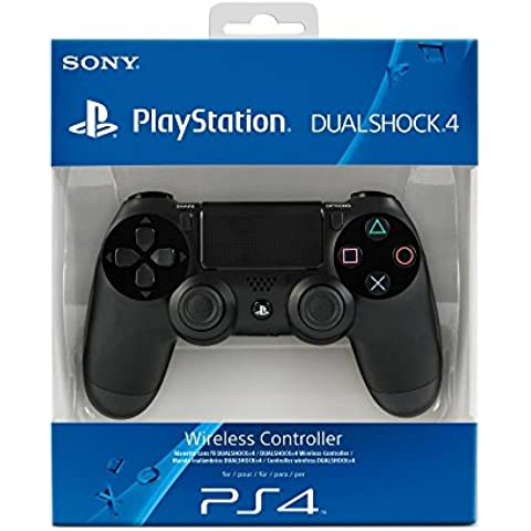 PlayStation 4 - Controller Dualshock 4 Wireless, Jet Black per