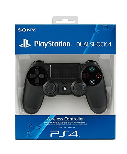 Sony PlayStation DualShock 4 Controller - Jet Black (PS4)