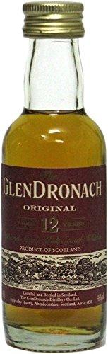 The Glendronach Whisky 12 Jahre 0,05l Miniatur - Highland Single Malt Scotch Whisky
