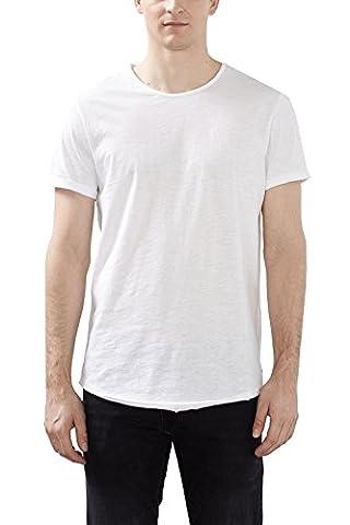 edc by ESPRIT Herren T-Shirt 997CC2K808, Weiß (White 100),