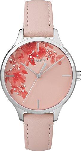 Timex Mixte Adulte Analogique Automatique Montre avec Bracelet en Cuir TW2R66600