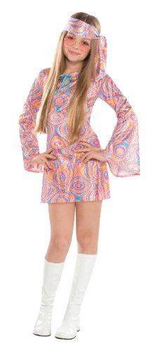 Kostüm Dress Disco Divas Fancy - Amscan Mädchen Disco Diva Kostüm - Alter 12-14 Jahre