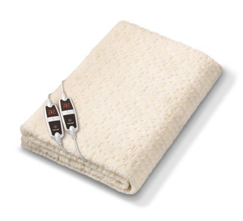 Beurer UB 56 Teddy Double Doppelwärmeunterbett, extragroß für 2 Personen, 4 Temperaturstufen