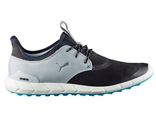Puma IGNITE Spikeless Sport Herren Golfschuhe schwarz grau NEU, Größe:UK 9   EUR 43   US 10   CM 28