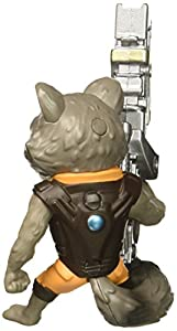 METALS 97966 Marvel Guardians of The Galaxy Rocket Racoon Figure, 4-Inch by Jazwares