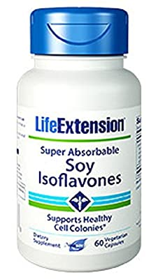 Life Extension Super Absorbable Soy Isoflavones (60 Vegetarian Capsules) from Life Extension