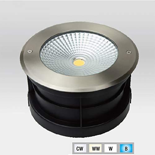 Spot LED Extérieur à enterrer ou encastrer 24W (éclairage 200W) étanche IP67 - Blanc Neutre (4000K)