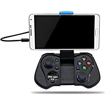 ELECTROPRIME Bluetooth Gamepad Controller Joystick With Phone Holder For IOS Android PC