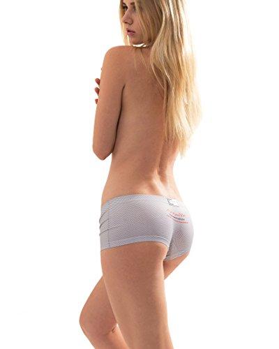 Croota Damen Seamless Panties Unterhosen - Comfort MS01-GREY
