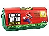 AILIENT Super Mario Run Estuche para lápices Impresión 3D Bolsa de Papelería Pencil Bag Estuches con Cremallera Estuche para Bolígrafos Estuche de Lápices Escolar Pencil Case - 20 x 9 x 6.5cm