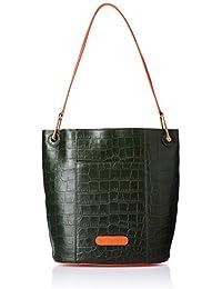 Hidesign Women's Shoulder Bag (Emerald Green Lobster)