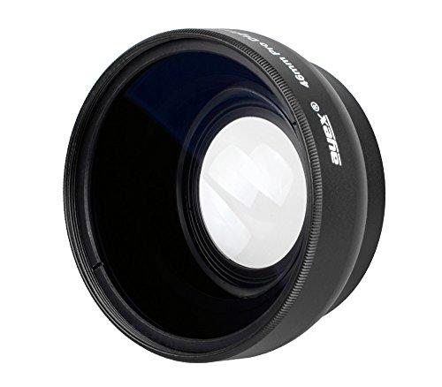 Ayex Weitwinkel-Konverter 0,45x Multi Coated Weitwinkel-Vorsatzlinse für 46mm Anschlussgewinde