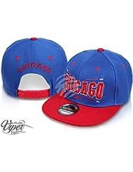 """Midi Shopping - Casquette Snapback Pas Cher Cap Hat Flatbrim """"Chicago"""" CAP 41CHI"""