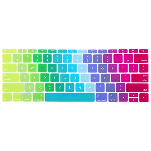 ShopAIS MacBook keyboard skin for MacBook with Retina Display 13/15/17 Inch - Multi Colour