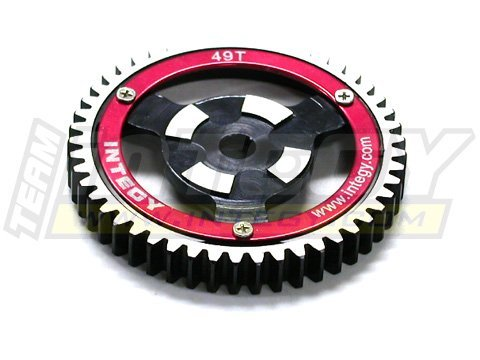 Integy Hobby RC Model T7095 Steel Spur Gear for HPI Savage-X, 21 & 25 49T